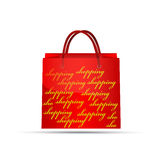 Rote Tasche Lizenzfreies Stockbild