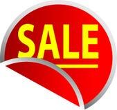 Rote Tasten-Verkauf Stockfoto