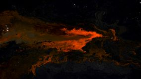 Rote Tinte auf abstraktem dunklem Hintergrund stock video footage