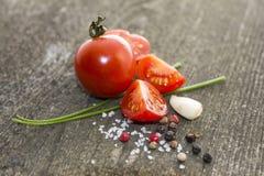 Rote Tomate Stockfoto