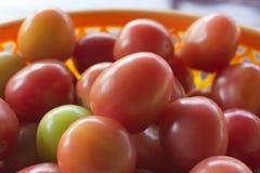 Rote Tomaten Ein Stapel der Tomaten Stockbild