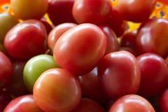 Rote Tomaten Ein Stapel der Tomaten Lizenzfreies Stockbild