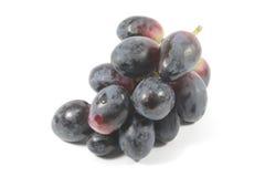 Rote Trauben organisch und frisch Stockbilder