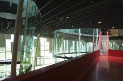 Rote Treppen stockbilder