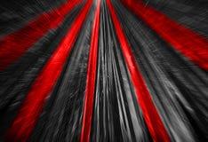 Rote u. schwarze Zusammenfassung Lizenzfreies Stockfoto