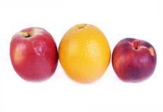 Rote und gelbe Früchte Stockfotos