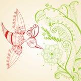 Rote und grüne Dekoration Lizenzfreies Stockfoto