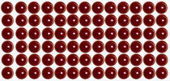 Rote Valentinsgrußkerzen am Weiß lizenzfreies stockfoto