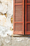 Rote varano borghi Paläste Italien Lizenzfreie Stockbilder