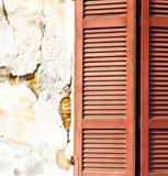Rote varano borghi Paläste Italien Stockfotos