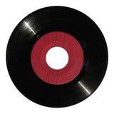 Rote Vinylaufzeichnung Lizenzfreies Stockfoto