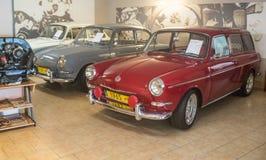 Rote Volkswagen-Art - 2 1600 L Variante 1970 Lizenzfreie Stockfotografie