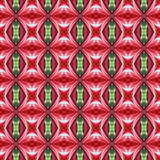 Rote volle Blüte von Hippeastrum blüht seamlesss stock abbildung