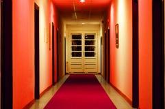 Rote Vorhalle Lizenzfreie Stockbilder