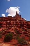 Rote Wüste Stockfoto
