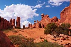 Rote Wüste Lizenzfreie Stockbilder