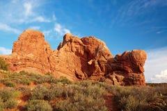 Rote Wüste Stockbild