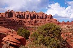 Rote Wüste Lizenzfreie Stockfotografie