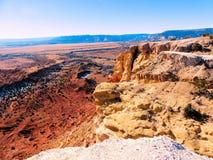 Rote Wüste des Nordnew mexico lizenzfreies stockfoto