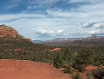 Rote Wüste III Lizenzfreie Stockbilder