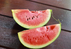 Rote Wassermelone Stockfotografie