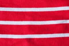 Rote weiße Streifen Lizenzfreies Stockfoto