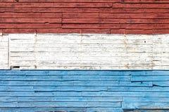 Rote, weiße und blaue Farbe Stockbilder