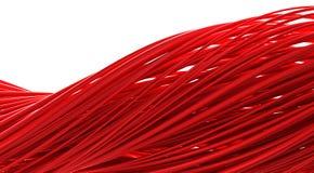 Rote Welle Lizenzfreies Stockbild