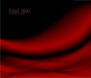 Rote Wellenauslegung Stockbilder