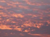 Rote Wolken Stockfotos
