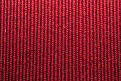 Rote Wolle-Beschaffenheit Stockfotografie