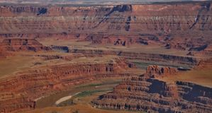Rote Wüste, Nationalpark Canyonlands, Lizenzfreie Stockfotos