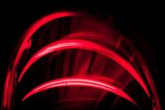 Rote Zeilen Stockfoto