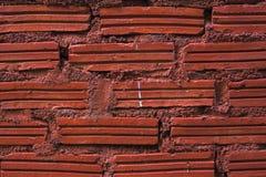 Rote Ziegelsteine Stockfoto