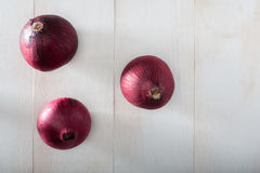 Rote Zwiebeln Stockbilder
