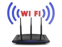 Roteador de Wifi Imagem de Stock