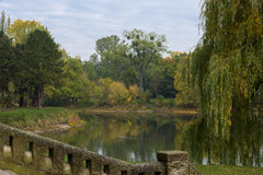 The Rotehornpark, Adolf-Mittag-See. Autumn Royalty Free Stock Photos