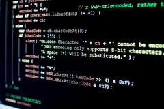 Roteiro do PHP para a codificação do caráter tradução e codificação do imagem de stock