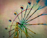 Rotella al neon Fotografie Stock