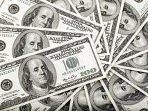 Rotella dei soldi Fotografie Stock Libere da Diritti