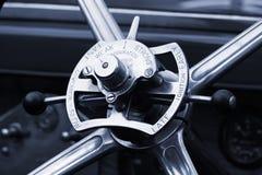 rotella dell'annata dell'automobile Fotografia Stock
