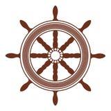 Rotella della nave royalty illustrazione gratis