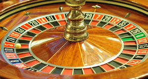 Rotella delle roulette immagine stock