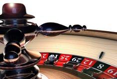 Rotella delle roulette Immagini Stock Libere da Diritti