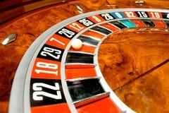 Rotella delle roulette Immagini Stock
