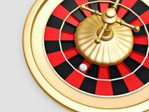 Rotella delle roulette del casinò Fotografie Stock Libere da Diritti