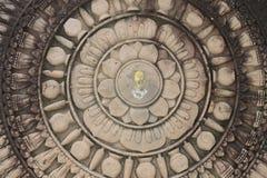 Rotella di buddha Fotografia Stock