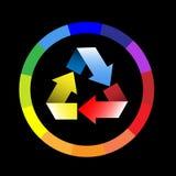 Rotella di colore Fotografie Stock Libere da Diritti
