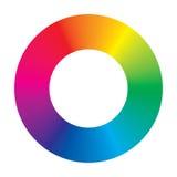 Rotella di colore di vettore Fotografie Stock Libere da Diritti