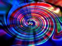 Rotella di colore vibrante immagini stock